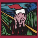 """Scream"" Christmas T-Shirt by HolidayT-Shirts"