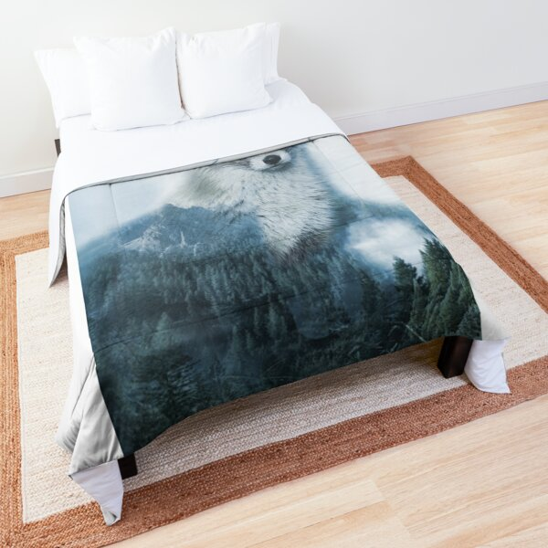 Mythical fox  Comforter