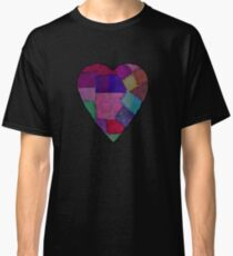 patchwork heart   Classic T-Shirt