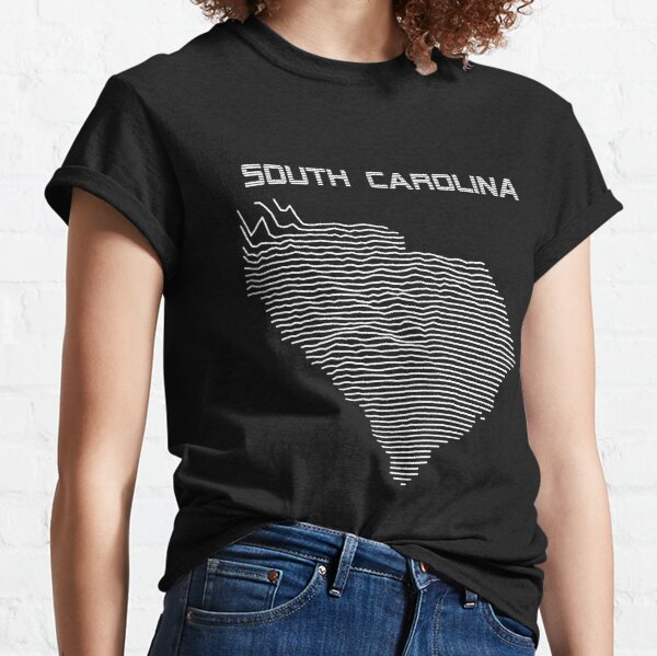 South Carolina - Unknown Elevations Joy Plot Shirt Classic T-Shirt