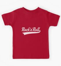 Rock 'n' Roll (White) Kids Tee