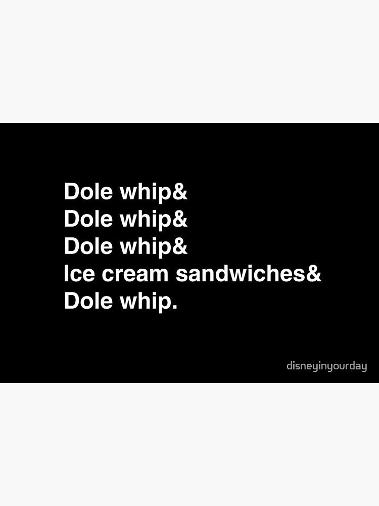 Dole whip & Dole whip by disneyinyourday