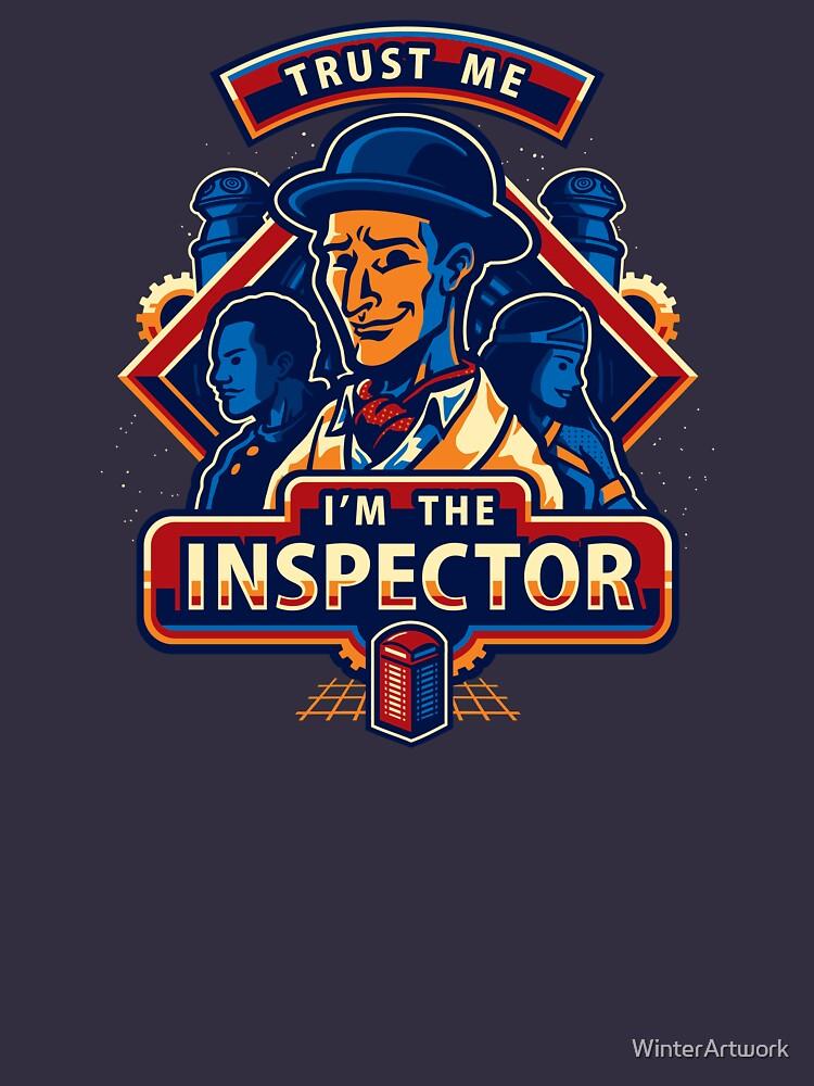 Trust The Inspector | Unisex T-Shirt