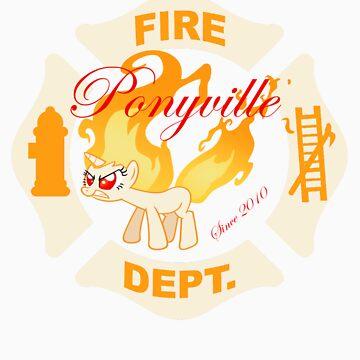 Ponyville Fire Dept. by LegendaryFisher