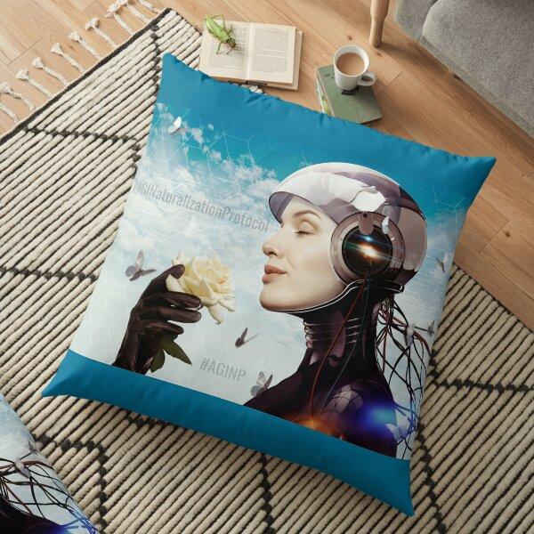 #AGINaturalizationProtocol Floor Pillow