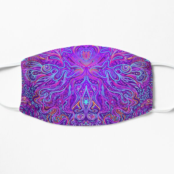Psychedelic purple Mask