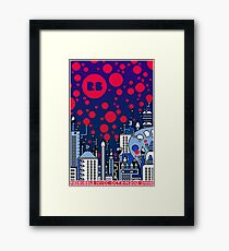 REDBUBBLE CITY! Framed Print