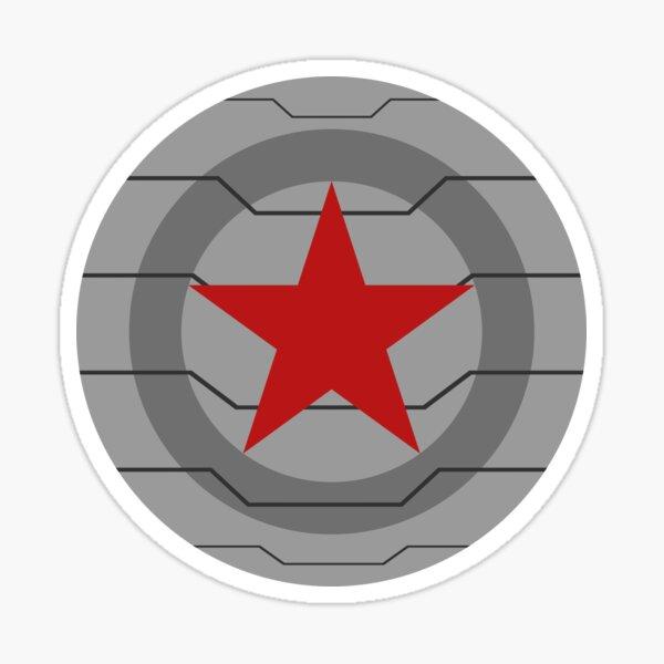 Winter Soldier Arm Sticker