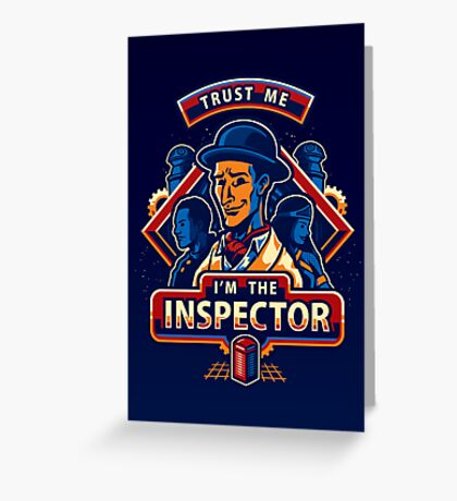 Trust The Inspector - POSTER Greeting Card
