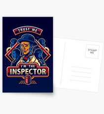 Trust The Inspector - POSTER Postcards