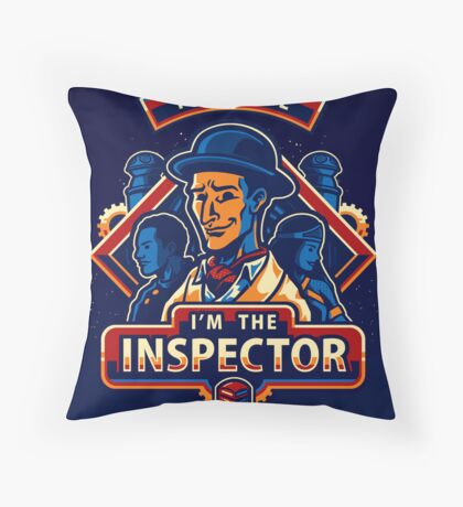 Trust The Inspector - POSTER Throw Pillow