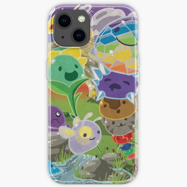 Slime Rancher All Slimes Collection iPhone Soft Case