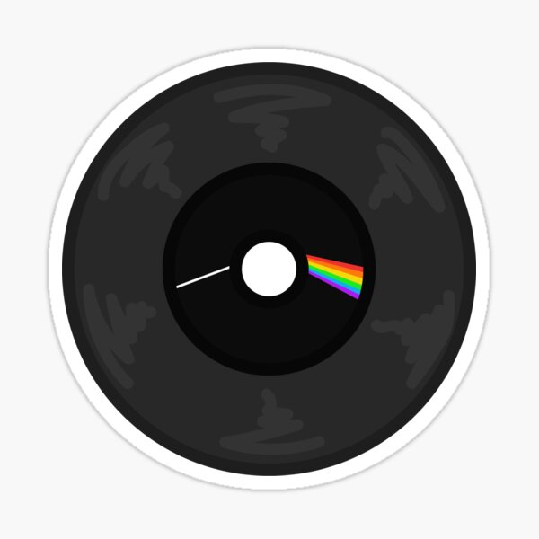 The Dark Side of the Mood Record Sticker