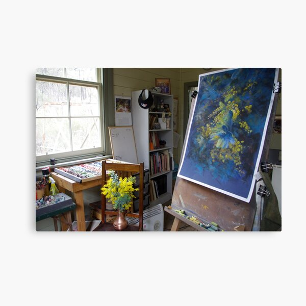 Work in Progress (A Burst of Spring) Canvas Print