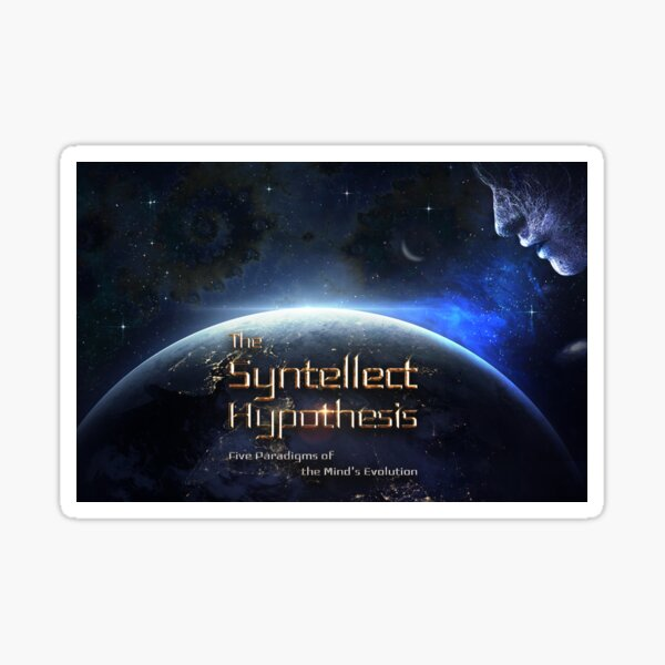 The Syntellect Hypothesis [Wide] Sticker
