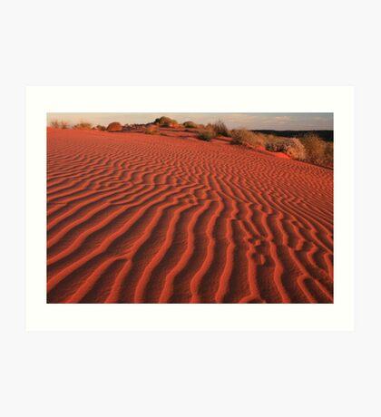 Sands of the Simpson Desert Art Print