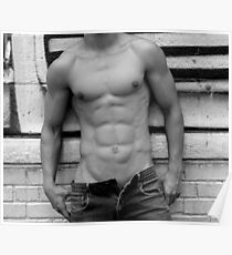 male abs  Poster
