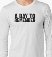 A Day To Remember - Black Long Sleeve T-Shirt