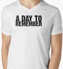 A Day To Remember - Black Mens V-Neck T-Shirt