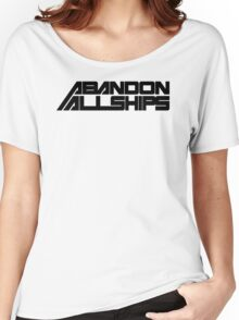Abandon All Ships Women's Relaxed Fit T-Shirt
