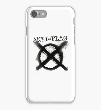 Anti-Flag iPhone Case/Skin