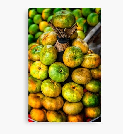 Citrus stack Canvas Print