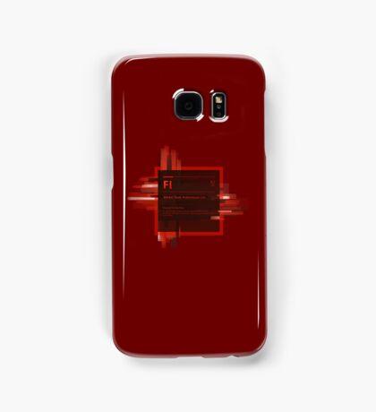 Adobe Flash Splash Screen Samsung Galaxy Case/Skin