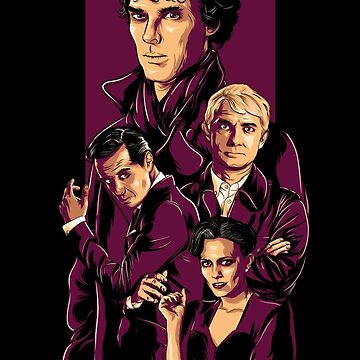 Sherlock by denisosulli