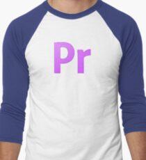 Adobe Premier  Men's Baseball ¾ T-Shirt