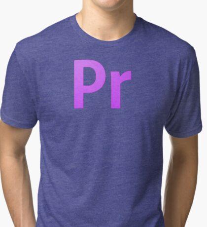 Adobe Premier  Tri-blend T-Shirt