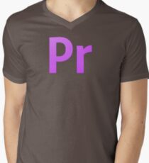 Adobe Premier  Men's V-Neck T-Shirt