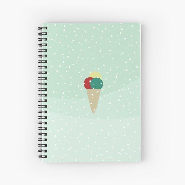 Ice cream dreams Spiral Notebook