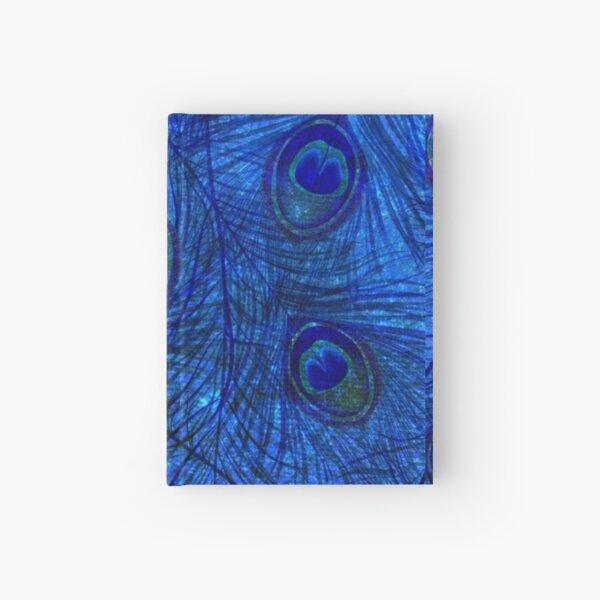 Indigo Peacock  Hardcover Journal
