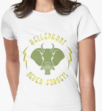 Hellephant - Maulive Green on Light Yellow T-Shirt