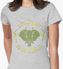 Hellephant - Maulive Green on Heather Grey T-Shirt