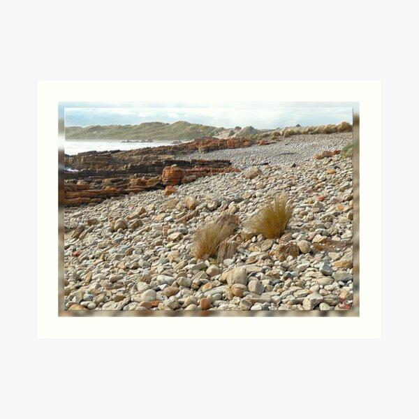 North-West Coast Tasmania ~ Just Rocks ~ D1G1TAL-M00DZ ~ GALERIEBORD ~ STRANDGUT ~ GALLIMAUFRY ~ by  tasmanianartist 240520 Art Print