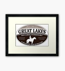 Great Lakes Framed Print