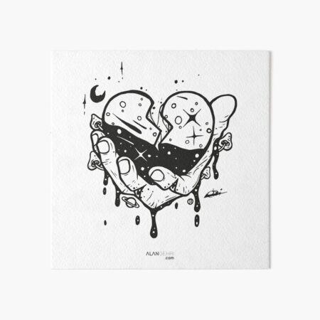 Take my heart and don't break it Art Board Print