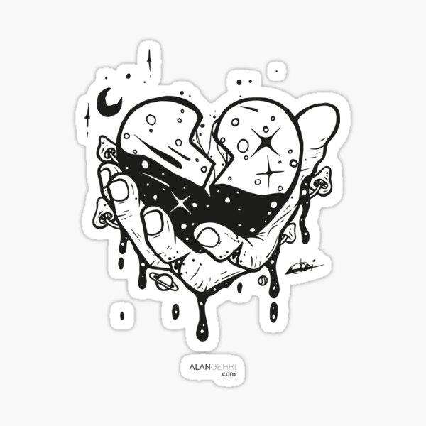 Take my heart and don't break it Sticker