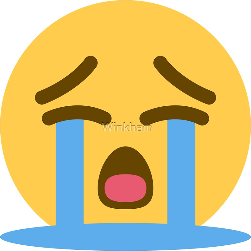 Whining emoji