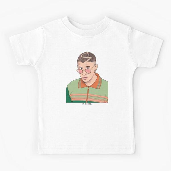 Bad Bunny Camiseta para niños