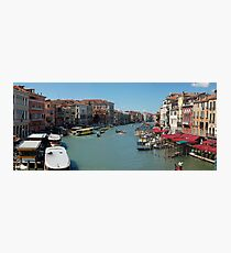 Grand Canal, Venice, IT Photographic Print