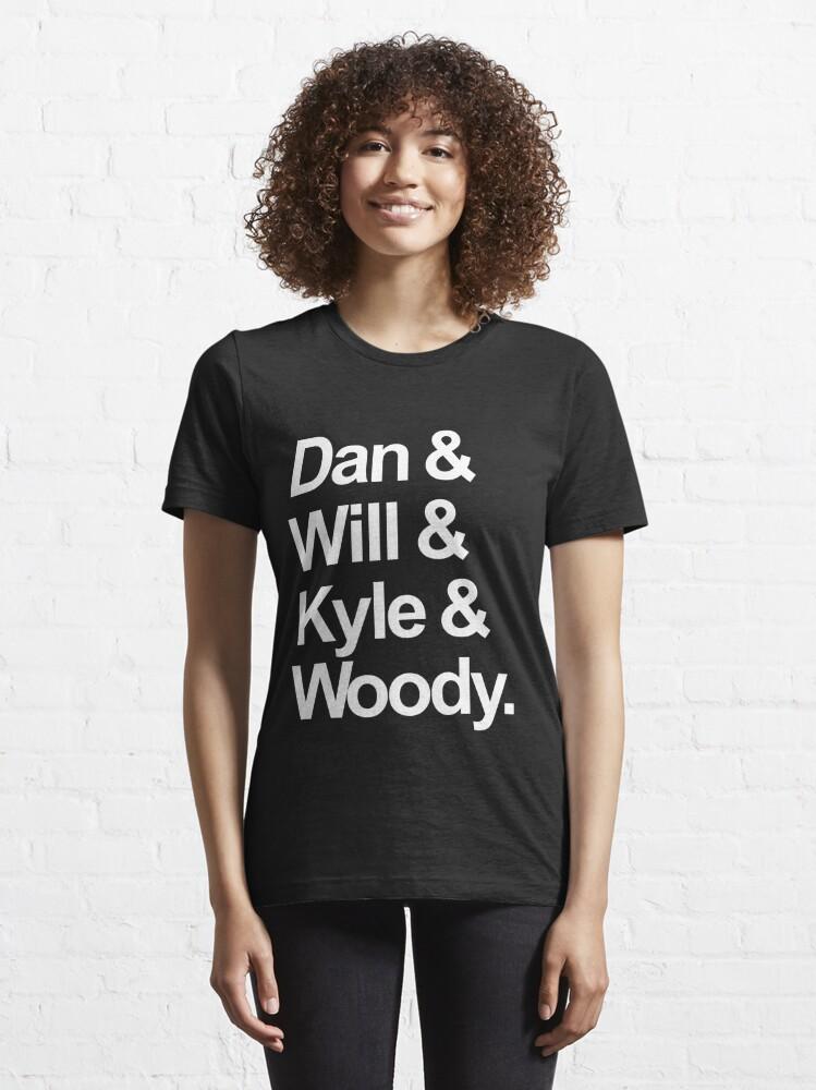 Alternate view of Bastille names Essential T-Shirt