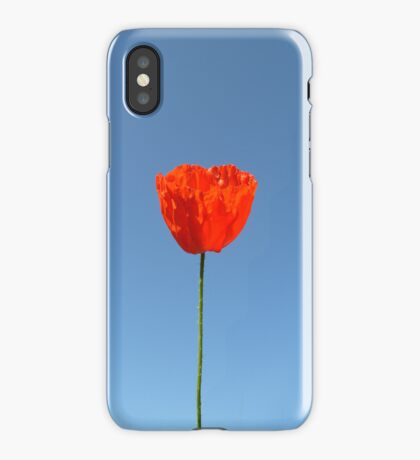 Poppy in the Sky - iPHONE/iPOD Case iPhone Case