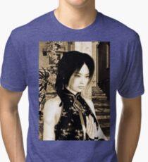 Asian Beauty Tri-blend T-Shirt