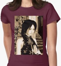 Asian Beauty Womens Fitted T-Shirt
