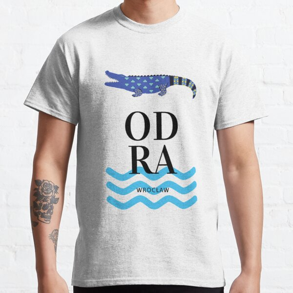 Alligator Odra River Wroclaw Classic T-Shirt