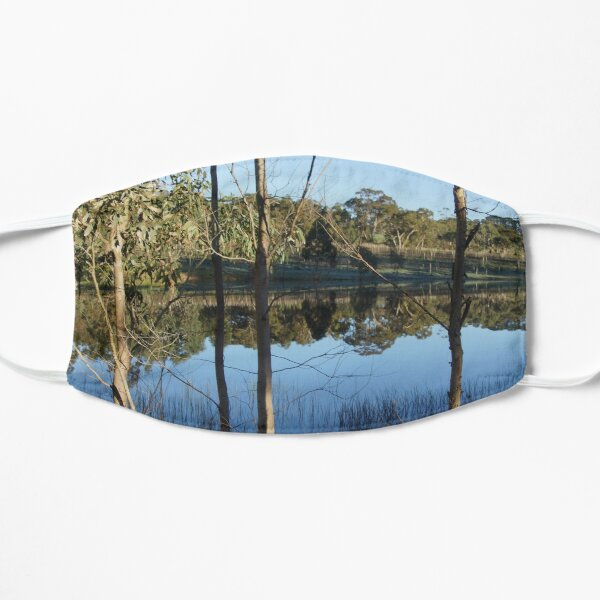 Reflections at the dam - Magpie Springs - Adelaide Hills Wine Region - Fleurieu Peninsula - South Australia Mask