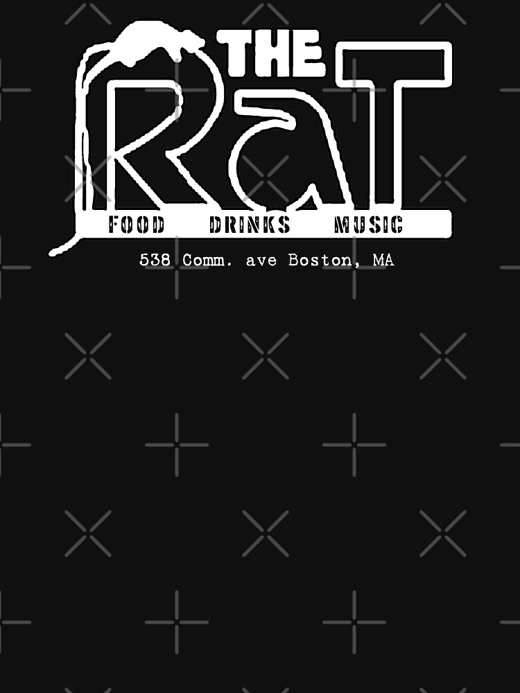 """The Rathskeller AKA """"The Rat"""" Rat Logo with Address  by Local-Crew"""