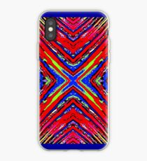 Colored X iPhone Case